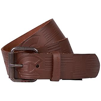 Chiemsee men leather buckle belt Brown 4080105