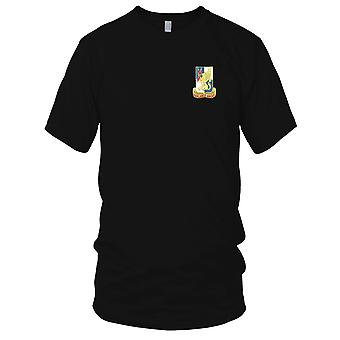 US Army - 224th Military Intelligence Battalion Embroidered Patch - Mens T Shirt