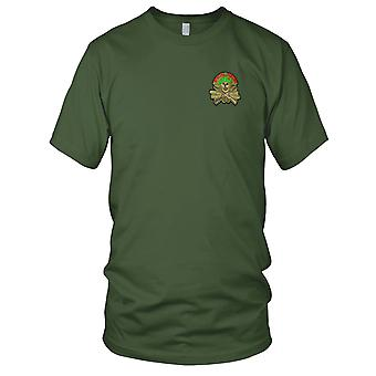 Special Forces - Mess With The Best Green Beret MACV-SOG Vietnam War Embroidered Patch - Mens T Shirt