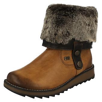 Las señoras retan todo el tiempo en Warmlined botas D8874