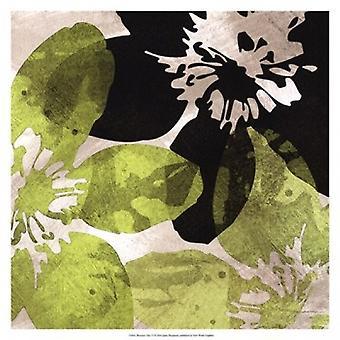 Bloomer Tiles VI Poster Print by James Burghardt (17 x 17)