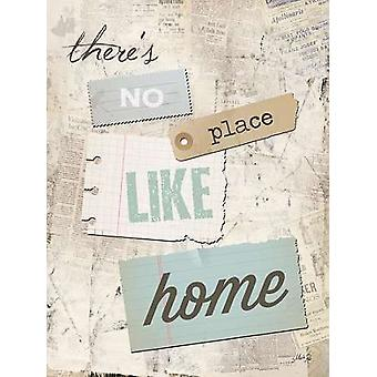 Theres No Place Like Home Poster Print by Marla Rae (12 x 16)