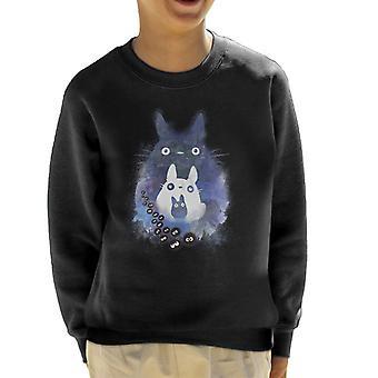 Totoro And Forest Spirit Friends Kid's Sweatshirt