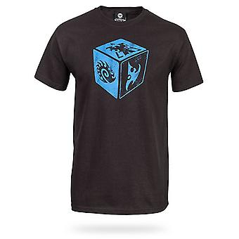 Voksne World of Warcraft T-shirt | WOW Tshirt | Officielle | KUN NOOBS | Voksen | S | SMOKE GREY