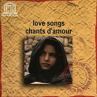 Forskellige kunstner - kærlighedssange [CD] USA importerer