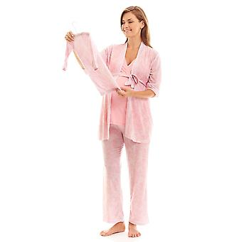 Analise Five-Piece Mom and Baby Maternity and Nursing PJ Set