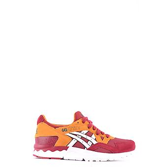 ASICS women's MCBI028033O Bordeaux red suede of sneakers