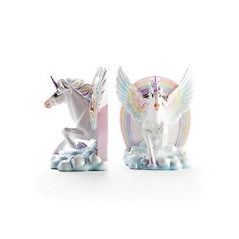 Flying Unicorn Bookends