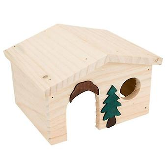 Tyrol Wooden Chalet Hamster (Small pets , Cage Accessories , Maisonnettes et Tunnels)