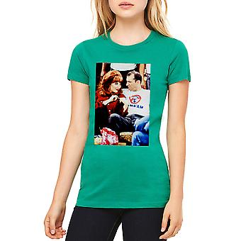 Married With Children Bundys Love Women's Kelly Green T-shirt