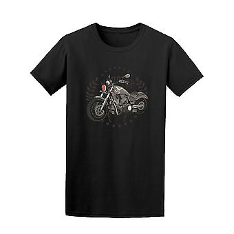 Motorcycle Graphic Tee Men's -Image by Shutterstock