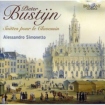 Pieter Bustijn – Pieter Bustijn: Import USA Suittes Pour Le Clavessin [CD]