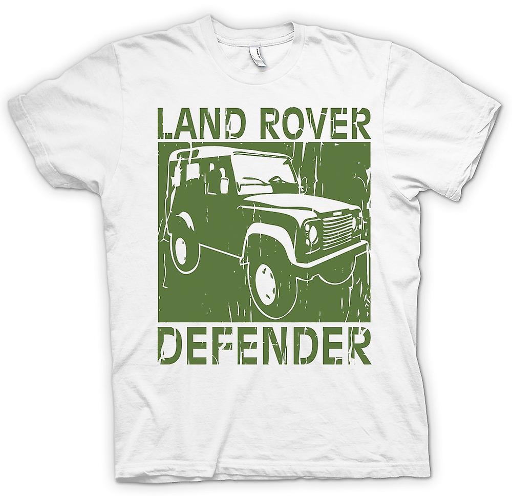 Womens T-shirt - Landrover Defender Offroad