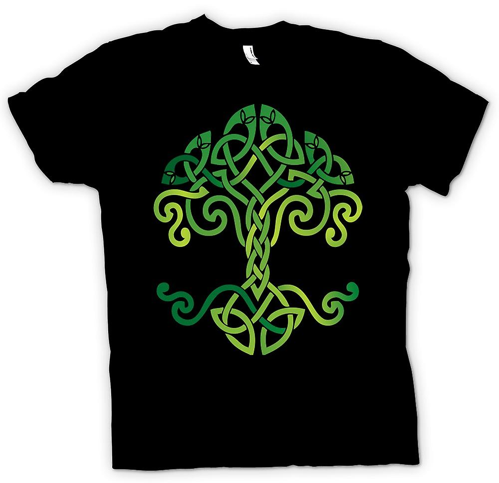 Womens T-shirt - Celtic Tribal Tree Of Life Symbol