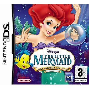 Disneys lilla sjöjungfrun Ariels Undersea Adventure (Nintendo DS)