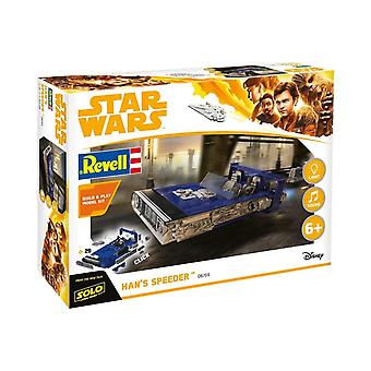 Revell Gmbh 06769 Star Wars Solo Hans Speeder Build en Play Model Kit