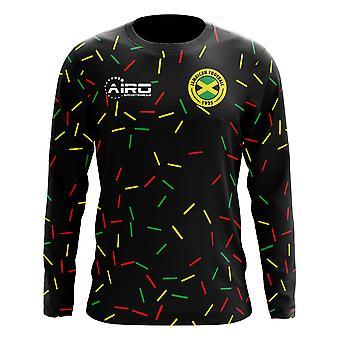 2018-2019 Jamaica Long Sleeve Third Concept Football Shirt