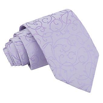 Cravatta classica Swirl Lilla