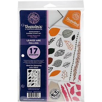 Crafter's Companion Threaders Rubber Stamp Set 5.5