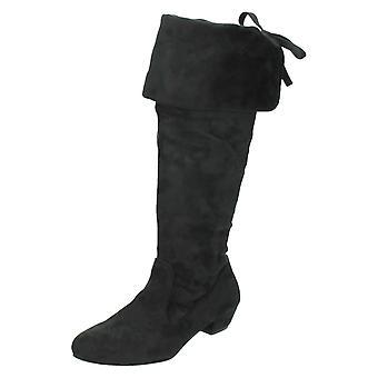 Damer Spot på knæ høje støvler