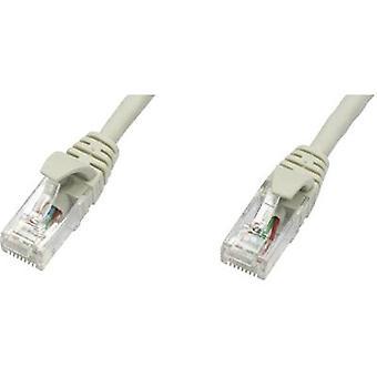 Telegärtner RJ45 Networks Cable CAT 5e U/UTP 25 m Grey Flame-retardant