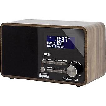 Imperial Dabman 100 DAB Table top radio AUX, DAB, FM Wood