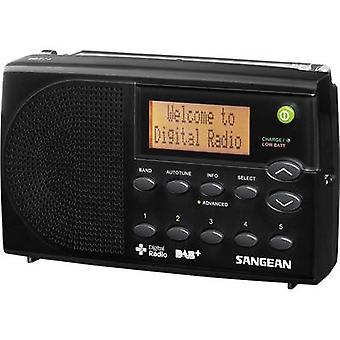 Sangean DPR-65 DAB+ Portable radio DAB+, FM Battery charger Black
