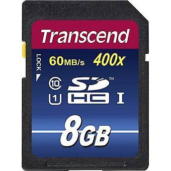 Transcend SDHC de 400 Premium tarjeta de 8 GB clase 10 UHS-I