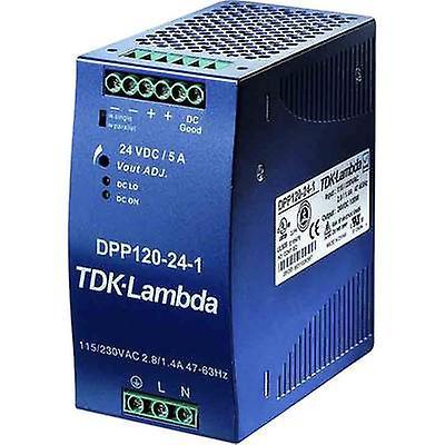 TDK-Lambda DPP-120-24-1 Rail mounted PSU (DIN) 24 Vdc 5 A 120 W 1 x