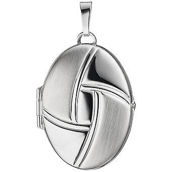 Medaillon 925-S Medaillon silber 925 Sterlingsilber silbernes ovales Medaillon