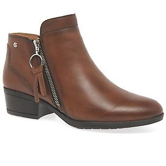 Pikolinos Daroca Womens Zip Fastening Ankle Boots