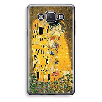 Samsung Galaxy A3 (2015) Transparent Case (Soft) - Der Kuss
