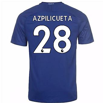 2017-18 Chelsea Home Shirt (Azpilicueta 28) - Kids