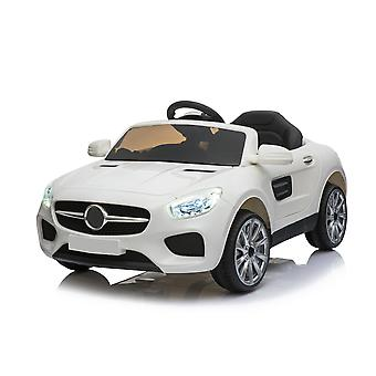 12V Mercedes Benz CLA Style Ride on Car  White/Black/Red/Pink