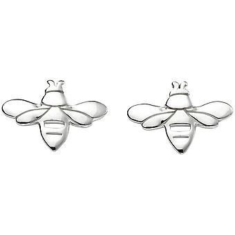 Beginnings Bee Stud Earrings - Silver