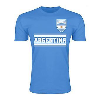 Argentina Core fodbold land T-Shirt (himlen)