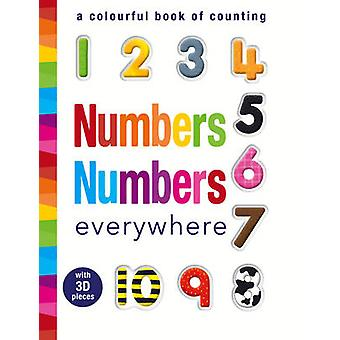 Numbers Numbers Everywhere - A Colourful Book of Counting by Samantha