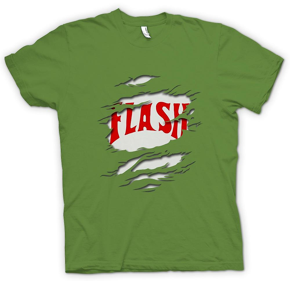 Mens t-shirt - Flash Gordon - strappato effetto