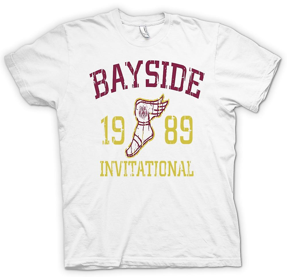 Heren T-shirt - Bayside Invitational 1989 - Funny