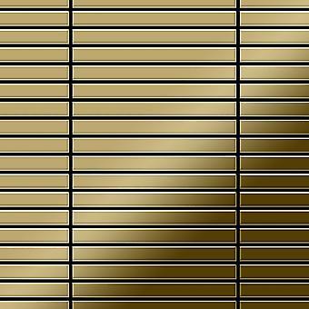 Metal mosaic Titanium ALLOY Linear-Ti-GM