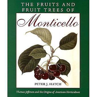 De vruchten en de fruitbomen van Monticello