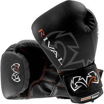 Rivaliserande boxning Optima Sparring handskar - svart