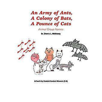 Eine Armee von Ameisen, eine Kolonie von Fledermäusen, ein Sprung von Katzen: Tier Gruppennamen
