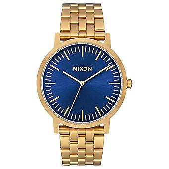 Nixon Mens Quartz analog watch with stainless steel band A1057-2735-00