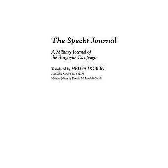 Jornal Specht diário A militar da campanha de Burgoyne por Doblin & Helga