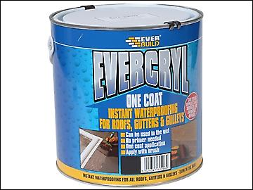 Everbuild Evercryl One Coat Compound Black 2.5kg