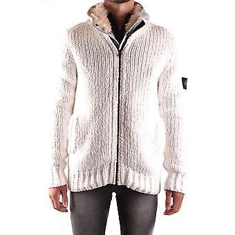 Stone Island White Polyester Outerwear Jacket