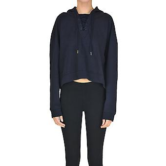 Stella Mccartney Blue Cotton Sweatshirt