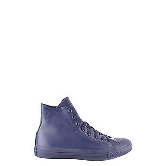 Converse Blue Rubber Hi Top Sneakers
