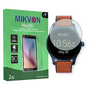Fossil Q Marshal Screen Protector - Mikvon Health (Retail Package with accessories)